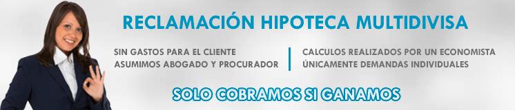 Reclamación Hipoteca Multidivisa Tenerife
